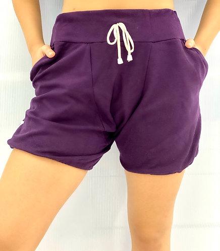 Shorts Roxo Feminino