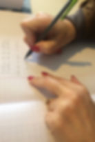 mains écrirensemble