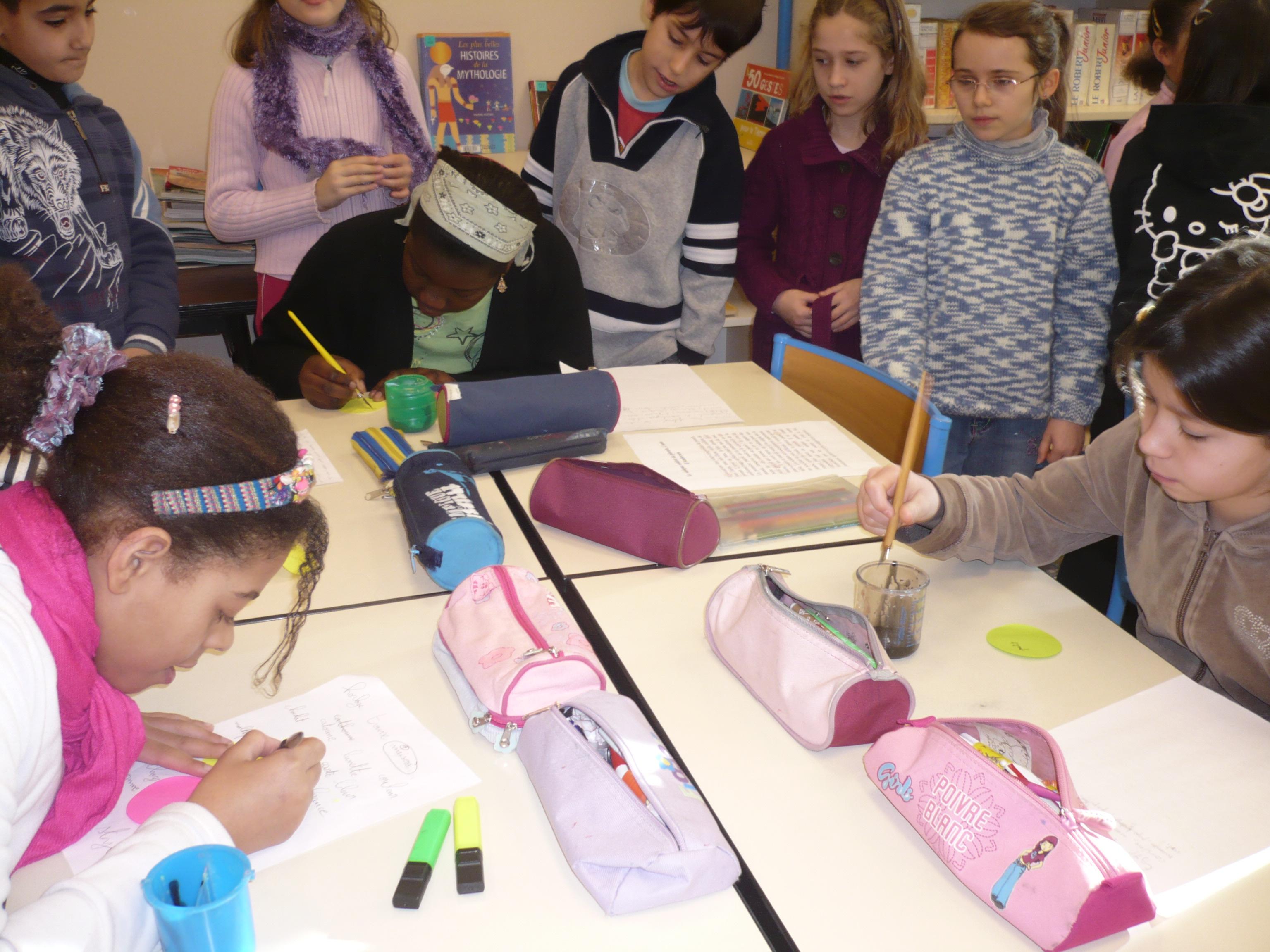 Atelier enfants CM1