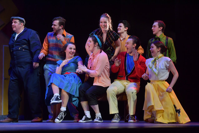 ENSEMBLE in ALL SHOOK UP