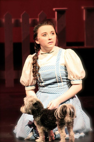 DOROTHY in WIZARD OF OZ