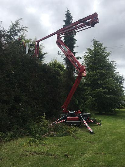 cherry picker hire tasmania hinowa spider lift