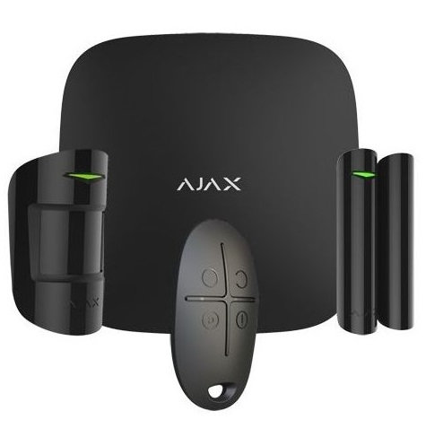 AJAX GSM ETHERNET Deteção de intrusão e alarme wireless (Preto)