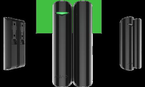 AJAX DOORPROTECT Detetor magnético de abertura e alarme wireless (Preto)
