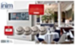 INIM SMARTLINE KIT REST_HOTEL ALARME INC