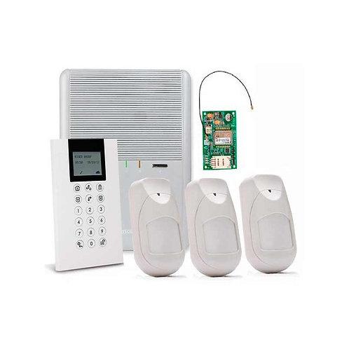 Deteção de intrusão e alarme wireless, GSM/2G, Risco Agility GSM