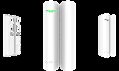 AJAX DOORPROTECT Detetor magnético de abertura e alarme wireless (Branco)