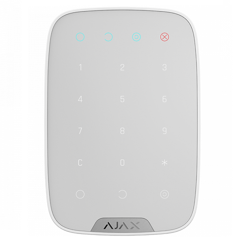 AJAX KEYPAD Teclado de controlo wireless (Branco)