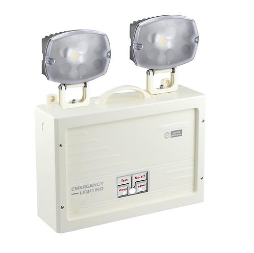 Luminária projetor de emergência, LED 790 Lumens, tipo  Mickey