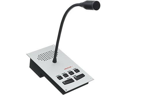 Unidade de Controlo e Microfone - Intercom System Intercomunicador