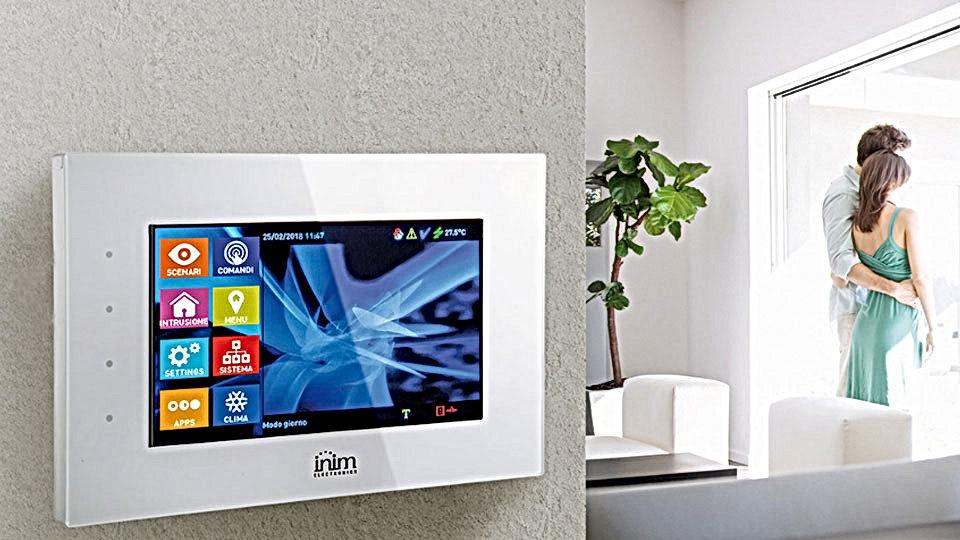 Alarme Intrusão Inim_smart_living_segurança_alarme_casa