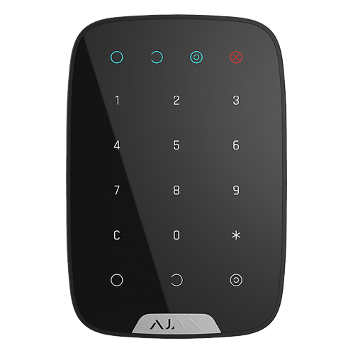 AJAX KEYPAD Teclado de controlo wireless (Preto)