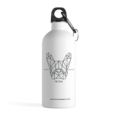 FETCH HAPPENS STAINLESS STEEL WATER BOTTLE