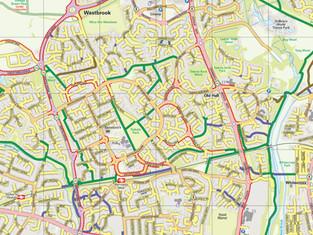 Warrington Cycle Map: Edition 7