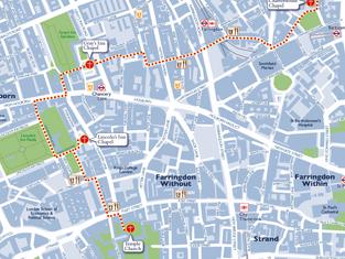 Hidden Churches Walk London