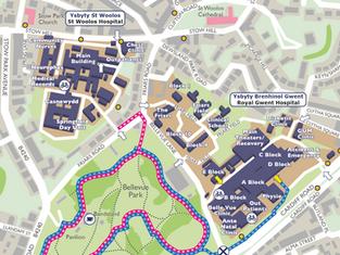 Gwent Hospitals Maps