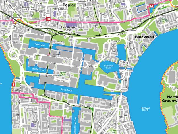 Cycle Republic Display Maps
