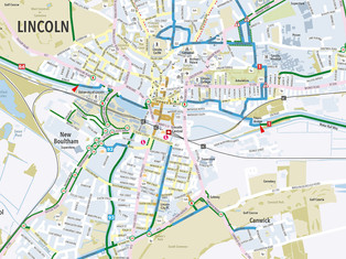Lincoln Cycle Map