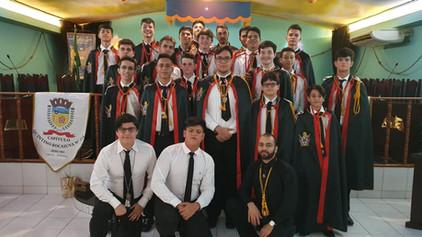 Capitulo Quintino Bocaiuva Nº 154 comemora o Centenário da Ordem Memolay em Cacoal.