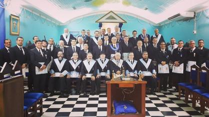 Lojas Estrela Renascente nº 02 e Estrela de Porto Velho nº 3462 (GOB-RO), realizaram sessão conjunta
