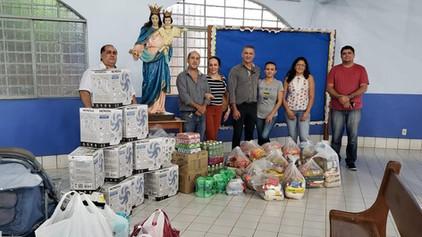 Acácias Jacques Demolay Nº 36 realiza Ação Social de auxilio aos refugiados venezuelanos.