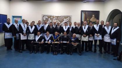 Sessão de Regularização do Ir. Vitor de Oliveira da Silva na ARBOLS Estrela Renascente nº 02.