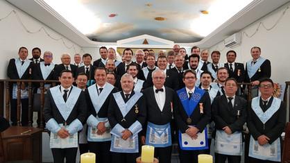 Lojas Jurisdicionadas da Região 07 fazem sessão conjunta no dia 15/10/2018.