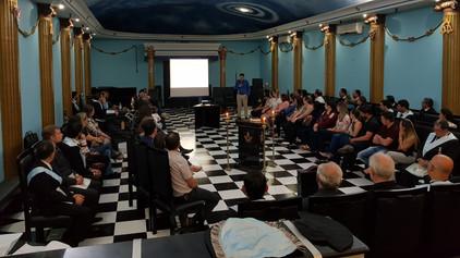 """Loja Águia do Planalto N° 03 realiza Palestra sobre """"Orientação aos Pais sobre a saúde mental d"""