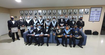 Loja Quéop's Nº 11, realiza Sessão Magna de Elevação.