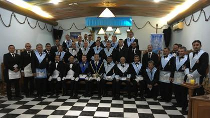 Loja Jorge Teixeira de Oliveira Nº 41 realizou no ultimo final de semana a iniciação de dois novos o