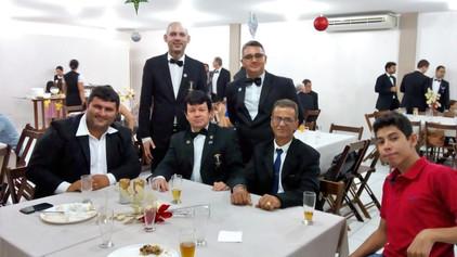 Festa de Confraternização de final de ano 2018 das Lojas Vale do Jamari nº 38 e Rei Salomão nº 43.