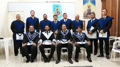Lojas Rei Salomão Nº 43 e Ricardo Ramirez Pavon Nº 42 realizaram sessão em conjunto.
