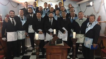 Realizada Sessão Magna de Iniciação na GBLS Cavalheiros da Ordem Nº 07.