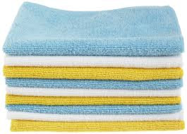 Microfiber rags/ecofriendly cleaning