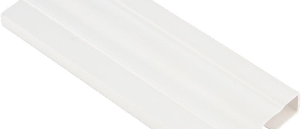 2.25 INCH PVC DOOR MOULDING IN WHITE