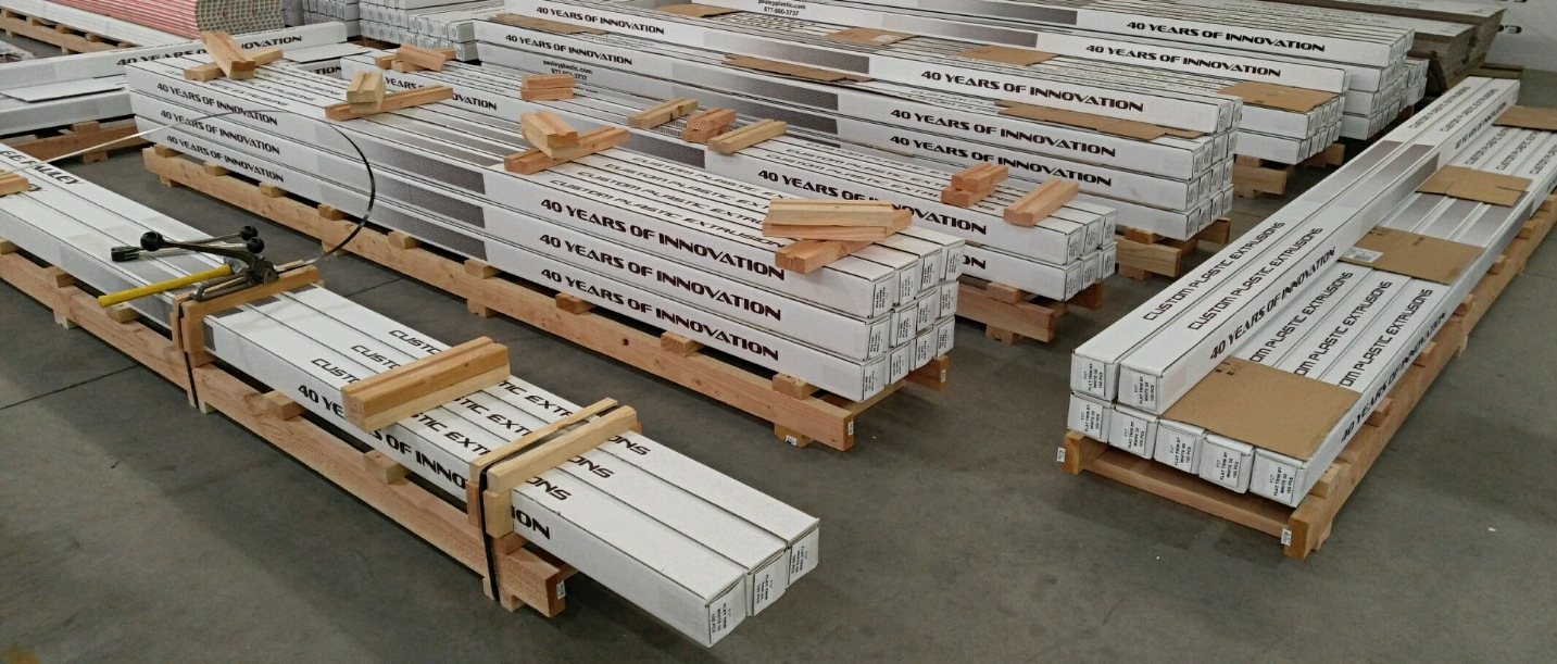 pallets preparing for shipment