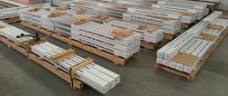 pallets preparing for shipment
