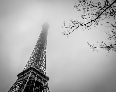 The Eiffel Tower in Winter