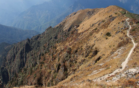 Trek Day 8: Thangbue to Shana