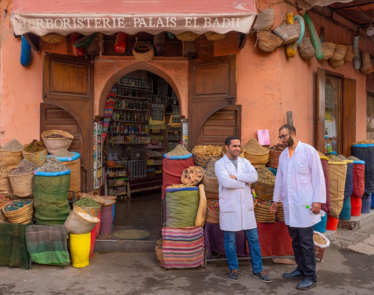 Morocco Shopkeepers