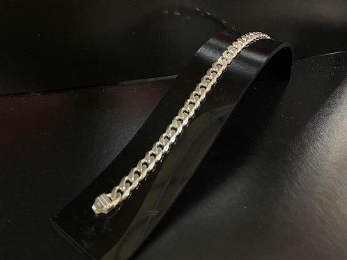 Men's Silver Heavy Curb Chain