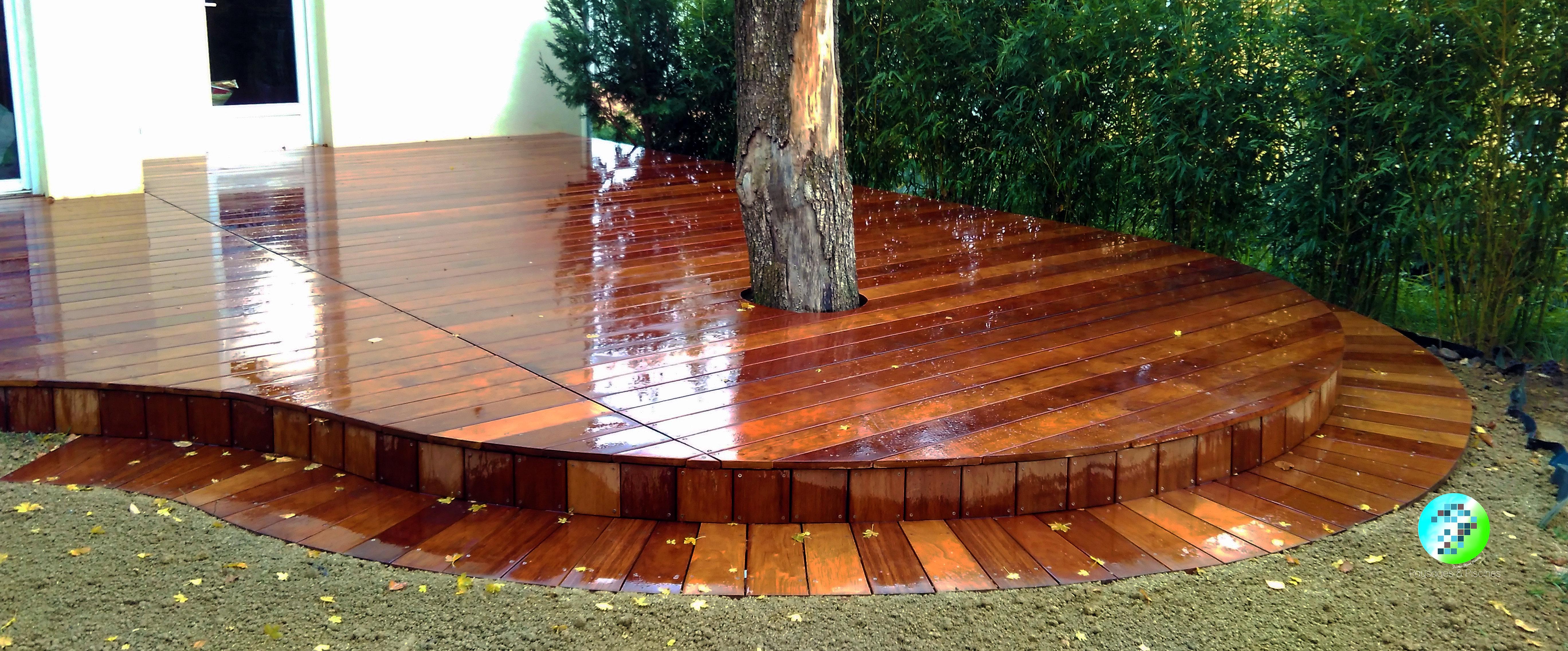 paysages et piscines paysagiste lyon accueil plancher courbe en bois exotique. Black Bedroom Furniture Sets. Home Design Ideas