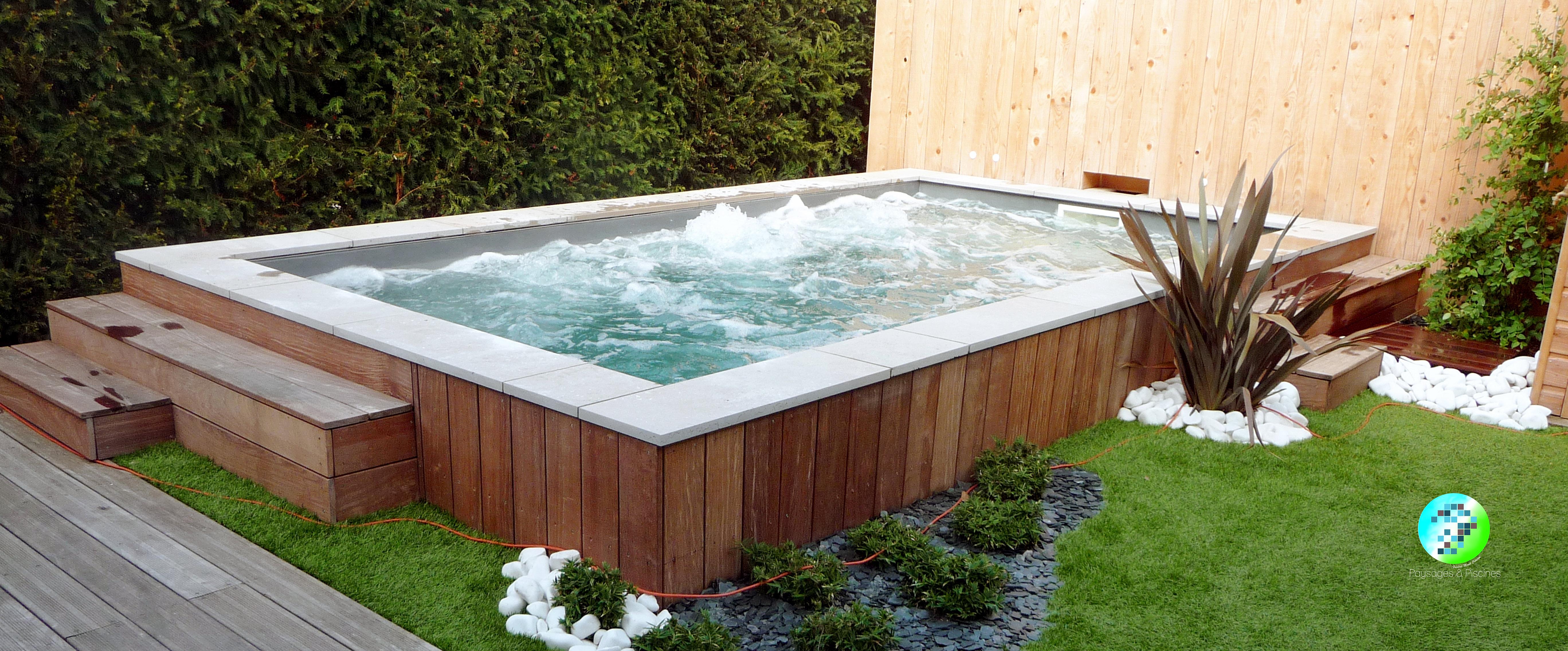 Paysages et piscines paysagiste lyon accueil piscine for Piscine bois lyon