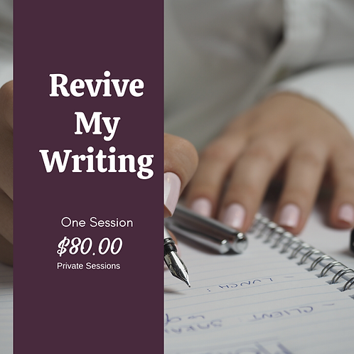 Revive My Writing Coaching Session