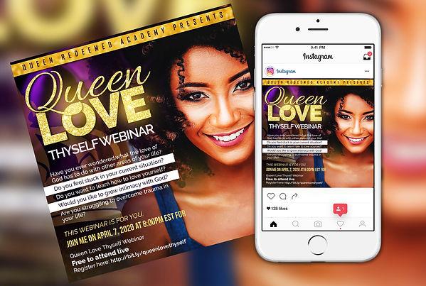 Queen Love Thyself Webinar