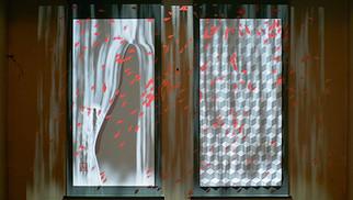 のむらの茶園 3Dマッピング掛け軸「春」「夏」「秋」「冬」 4 types