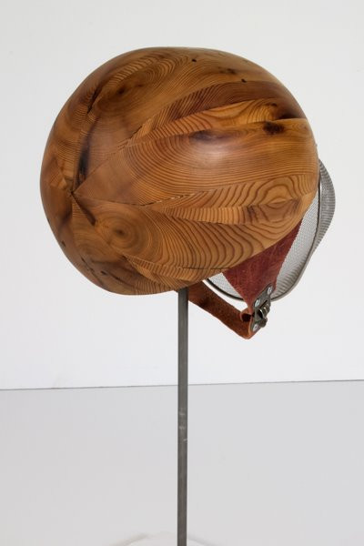 Toddler Control/ Rest Easy Device: Stainless Steel, Carved Cedar Wood, Brass 2008 ©