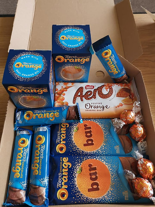 Chocolate Orange Flavour box