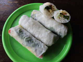 The Recipe Box: Simple Spring Rolls