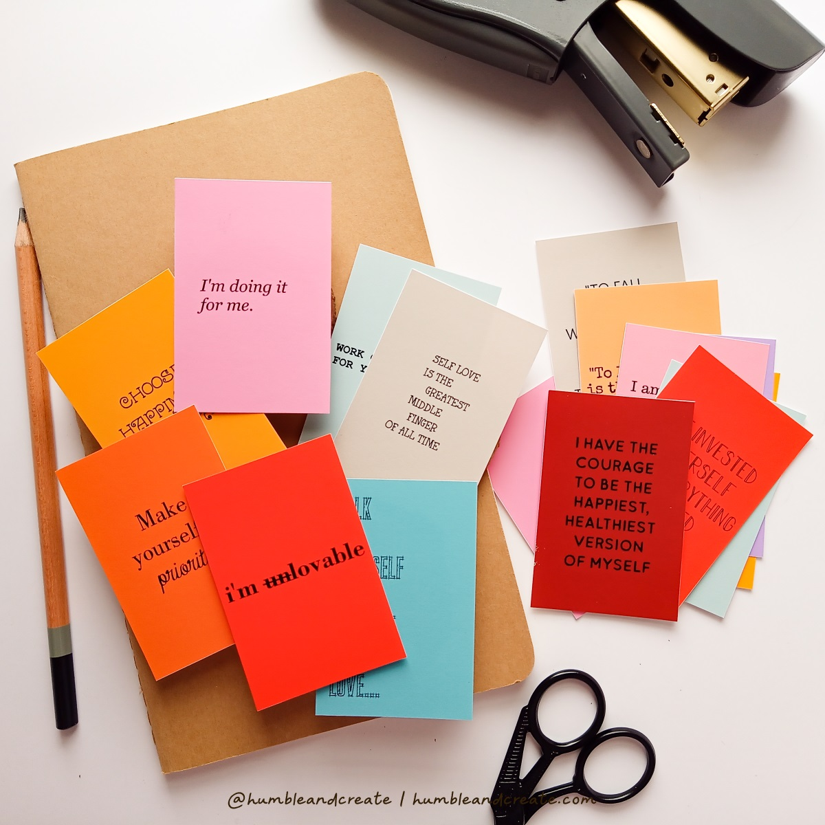 SELF LOVE NOTES-KELLY STAMPS